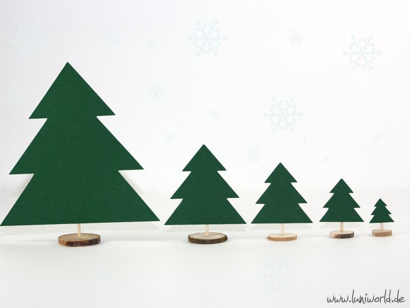 Weihnachts-Tischdeko Baum
